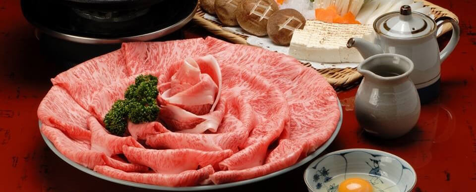 すき焼 松(ロース肉)